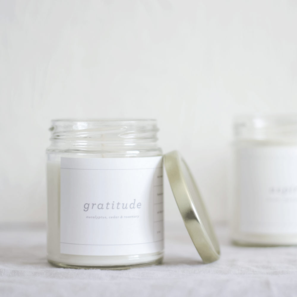 Gratitude Candle by State & Story Mornings Squamish