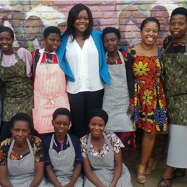 In January I had the opportunity to visit the @katespadeny's cooperatives in #Rwanda.  It was #heaven #inspiration