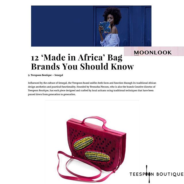 Thank you @moonlookworld. We're standing proudly among the great brands on your list.  Bags are my weakness, and I've spotted a few to add to my collection. -Tee  Read: Link in Bio