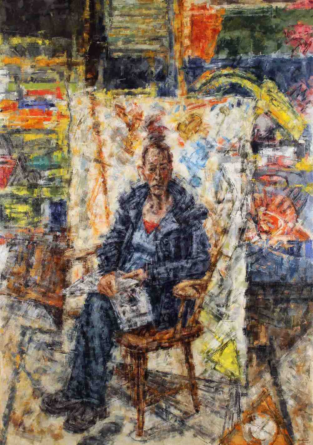 Christiane Seated
