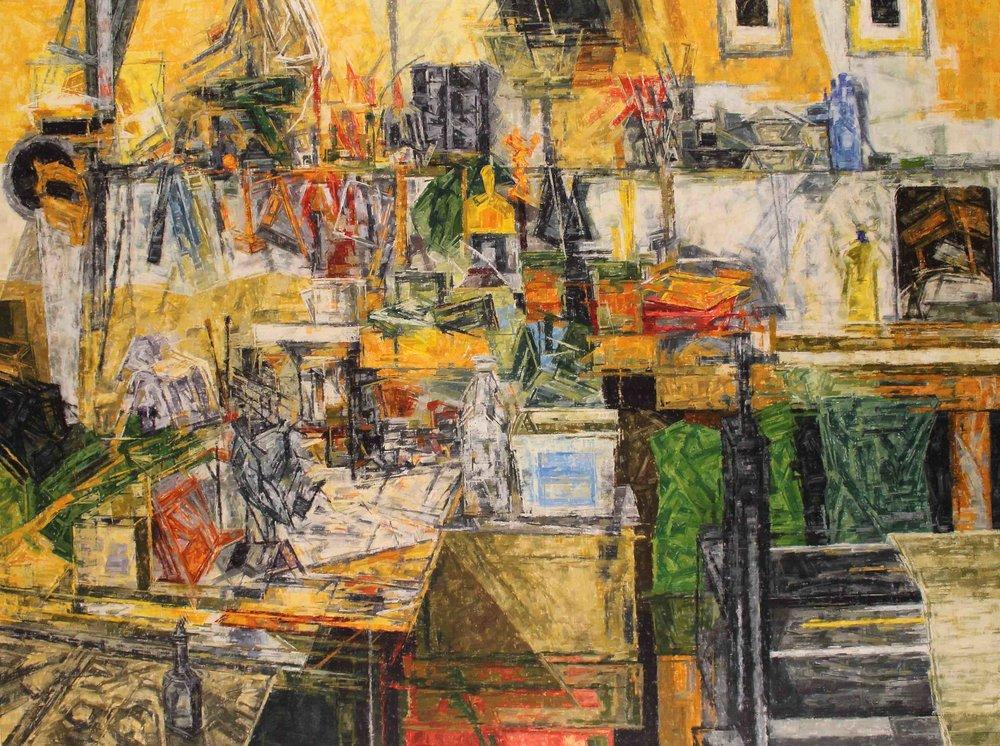 sean rudman selected paintings 2019
