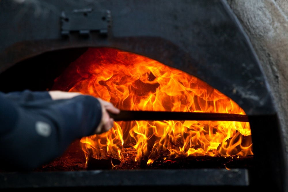 mobile wood fired pizza in Vermont