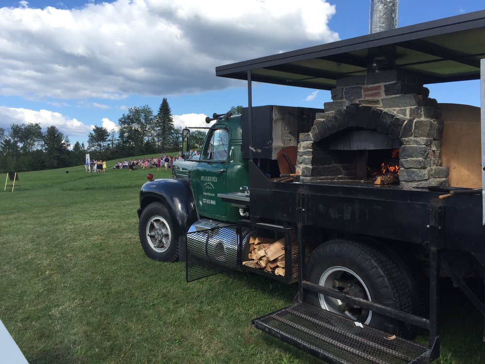 open hearth pizza, wood fired pizza vermont