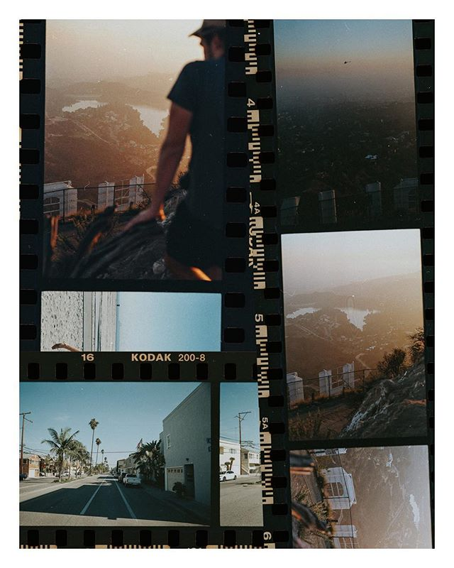 A handful of 35mm I was convinced I'd lost from LA. Probably ended up being my favourite roll of all time.