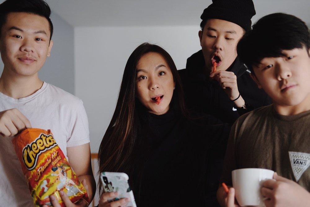 January 20, 2019 // Hot Cheetos, please sponsor us.