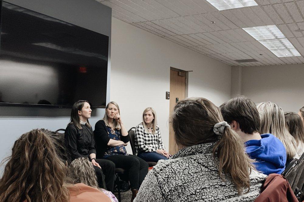 February 11, 2019 // Women in ministry. YAAAASSS QUEENS.