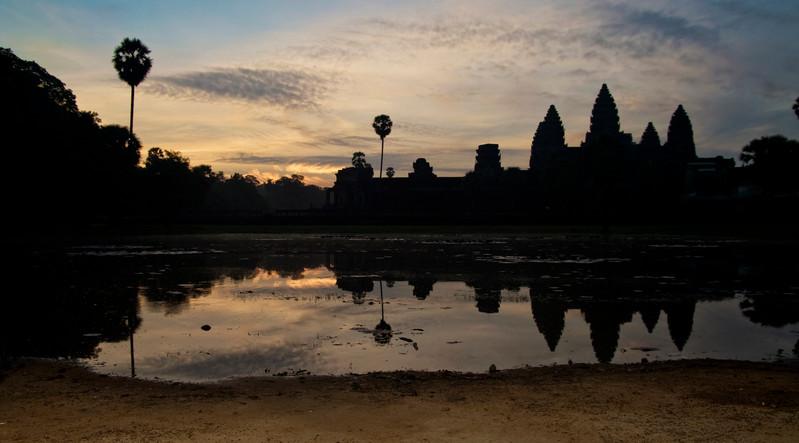 Cambodia Angkor Wat Sunrise Silhouette-Leo Tamburri 2010-IMGP9747 Lg RGB.jpg