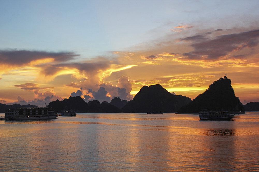 Vietnam Halong Bay Sunset Silhouette Islands-Nam Phong 2014-72648 Lg RGB.jpg