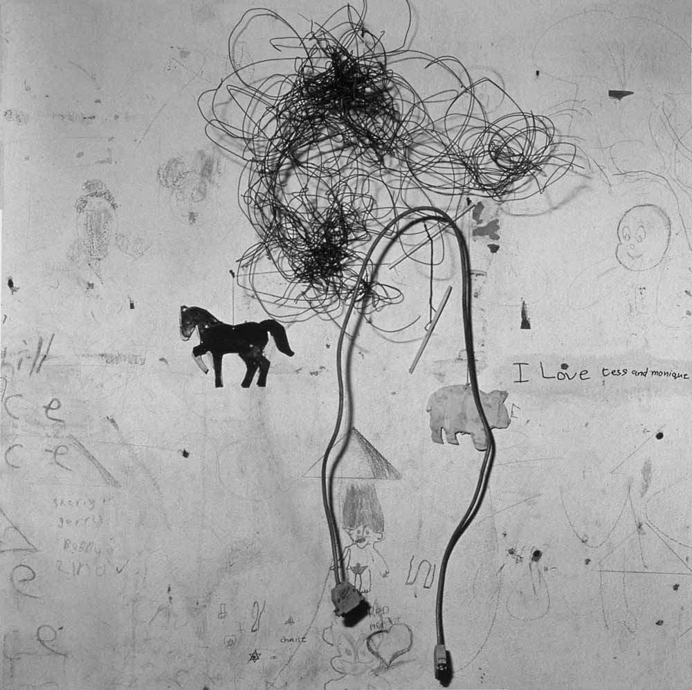 Roger Ballen children's bedroom, 2000