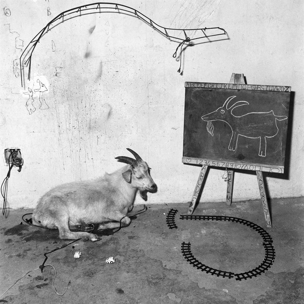 Roger Ballen- School room 2003