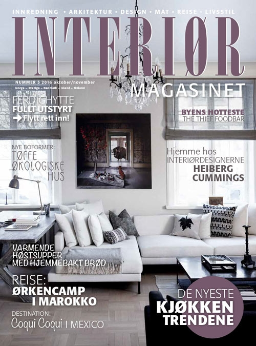 10 Pages and cover of Interiørmagasinet