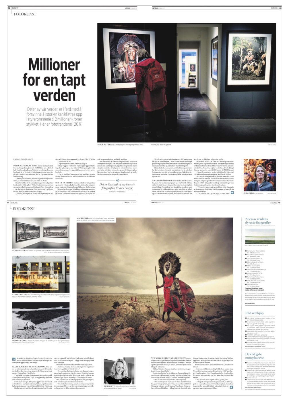 Finansavisen - How to invest in Photography