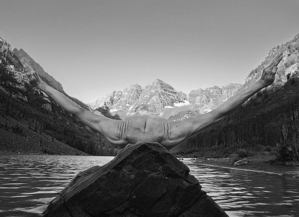 Arno Rafael Minkkinen - Maroon Bells Sunrise, Aspen, Colorado 2012