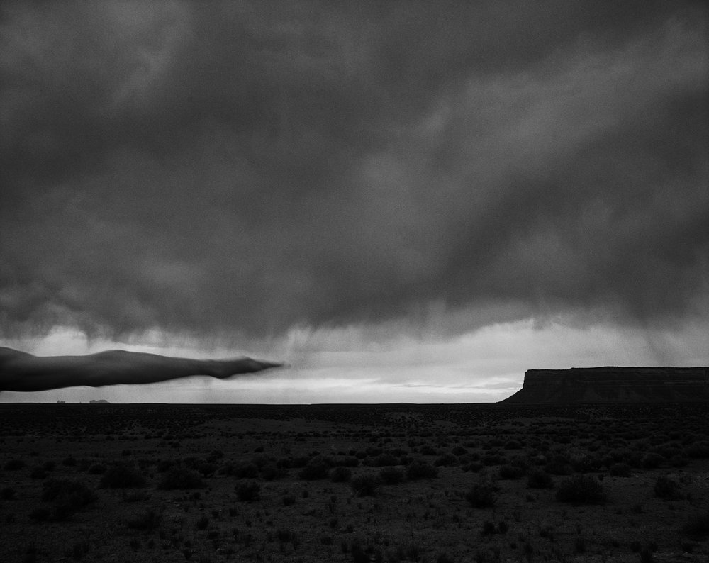 Arno Rafael Minkkinen - Muley Point, Arizona 1999