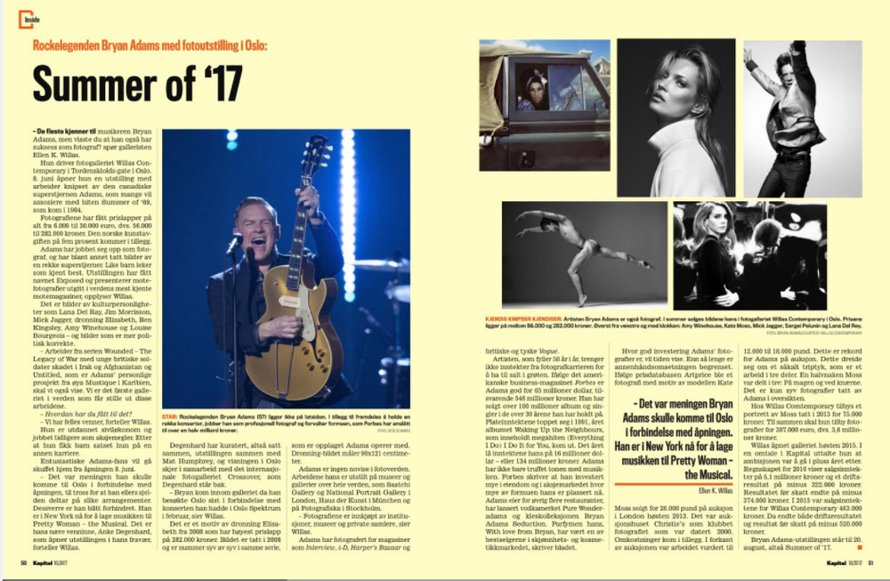 2 pages feature in Kapital