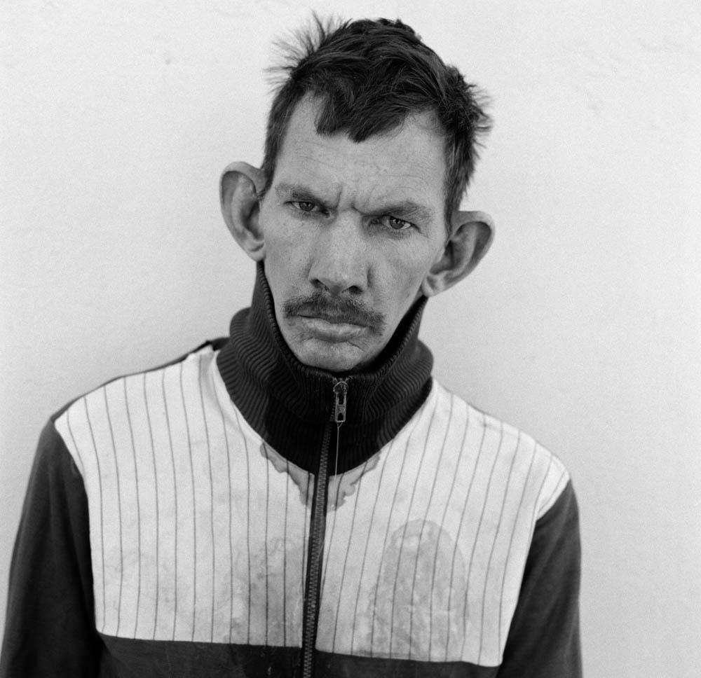 Roger Ballen Gardener, Western Transvaal - 1993