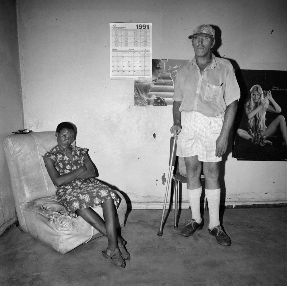 Roger Ballen - Man and Maid, Northern Cape - 1991