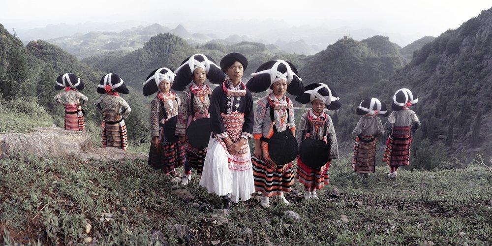 Jimmy Nelson - XXII 9 Longhorn Miao, SuoJia, Miao Village, Liupanshui, Guizhou, China, 2016