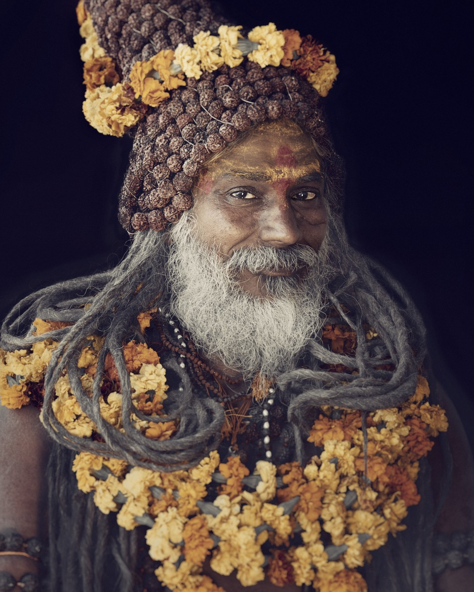 Jimmy Nelson - XXIV 11  Sadhu, Haridwar, India 2016