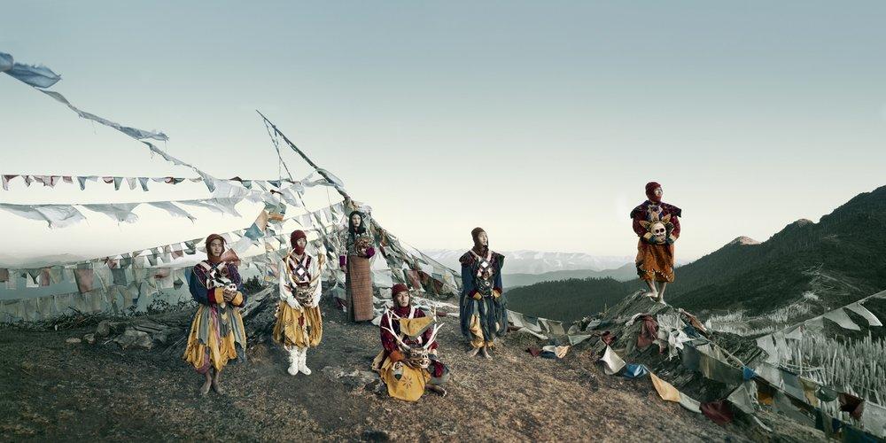 Jimmy Nelson - XXIX 1  Paro Pass, Bhutan, 2016