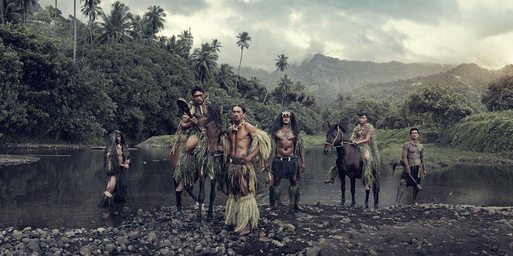 Jimmy Nelson - XXVI 16 Vaioa River, Atuona, Hiva Oa, Marquesas Islands, 2016