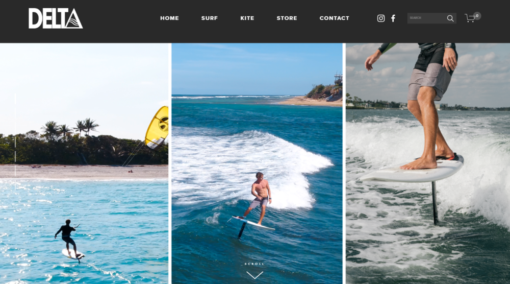 Delta Hydrofoils Homepage