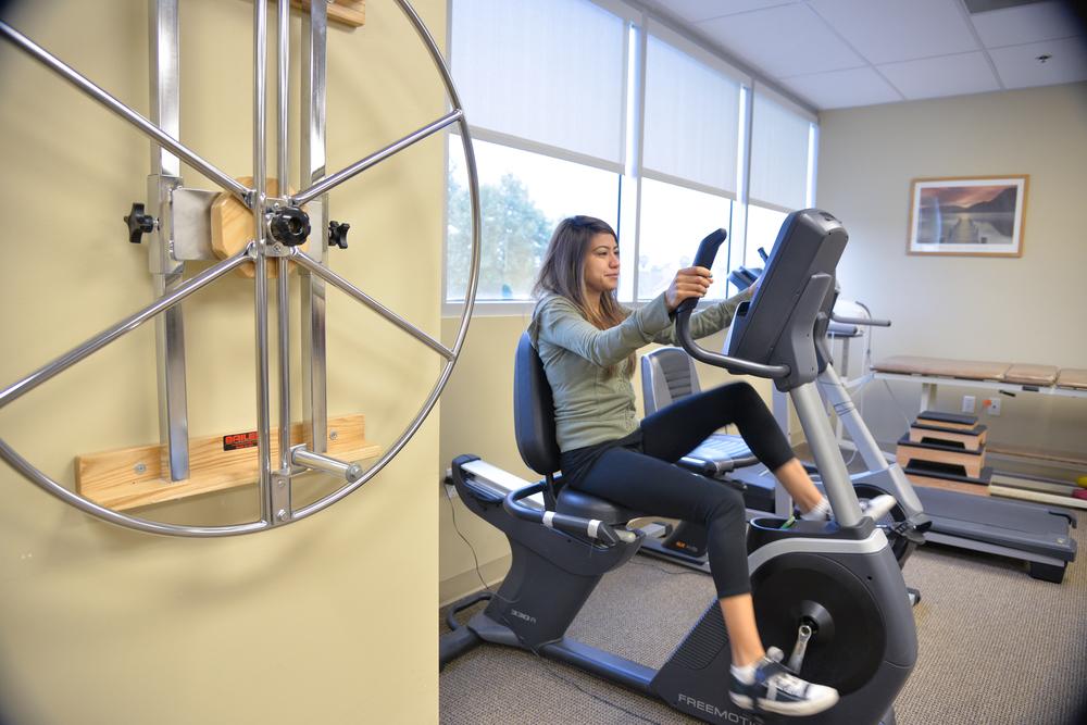 Endurance training for post-op knee arthroscopy.