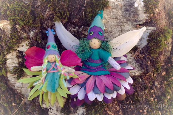 February Fairy Family — Forest Fairy Crafts