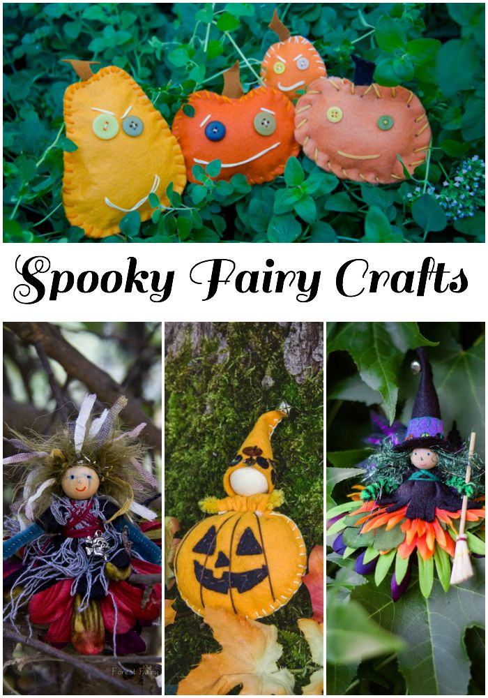 A few of our favorite Spooky Fairy Crafts
