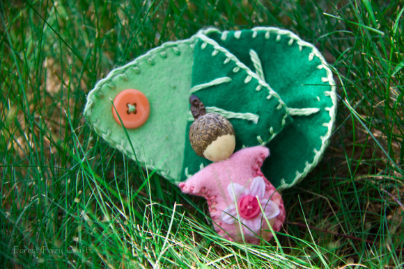 Blossom Baby by Asia Currie at Forest Fairy Crafts