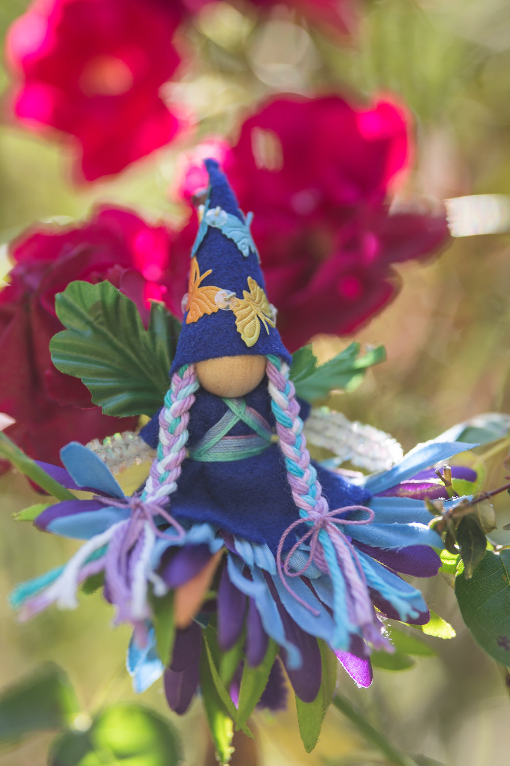 Night Garden Fairy by Forest Fairy Crafts bendy doll