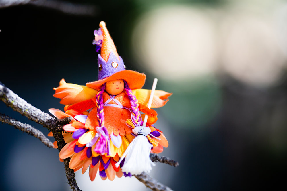 Forest Fairy Crafts Witch | Fairy doll made by Lenka Vodicka-Paredes