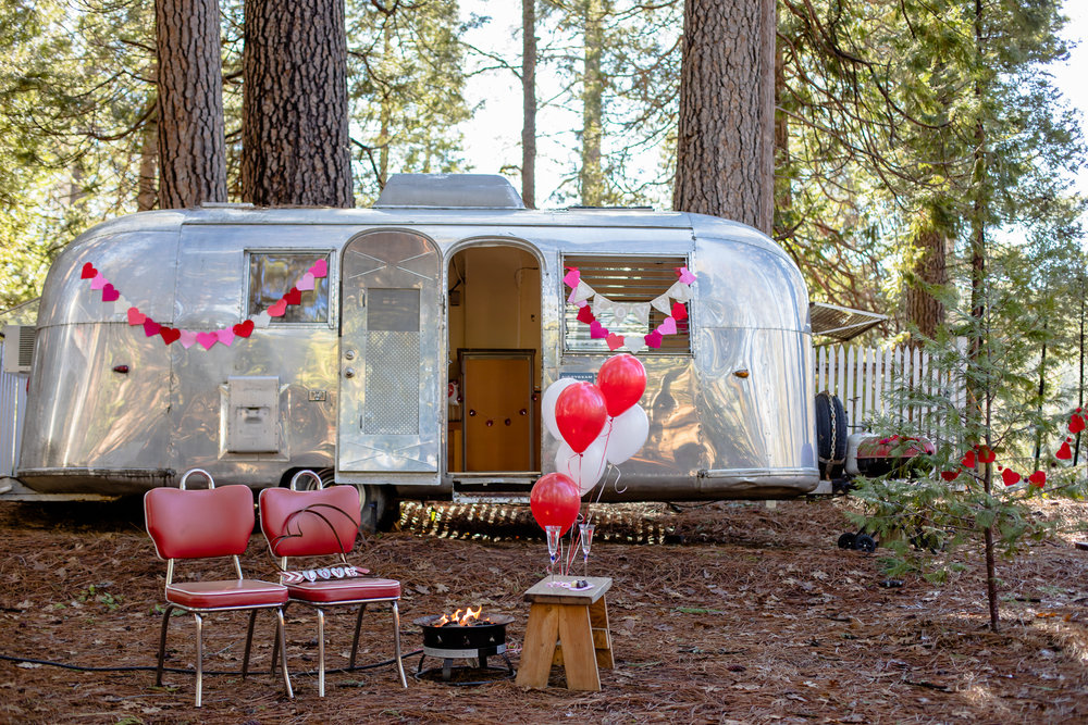 Valentine Heart Garland | Forest Fairy Crafts at the Inn Town Campground