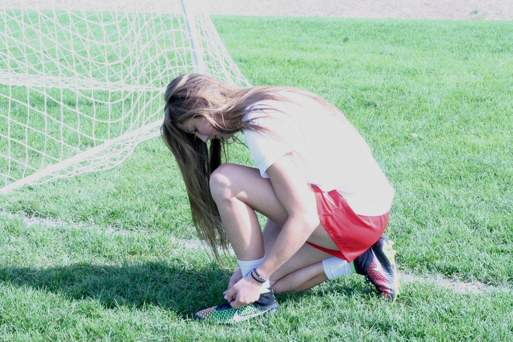 Ally Schlegel Preparing to Give Her All