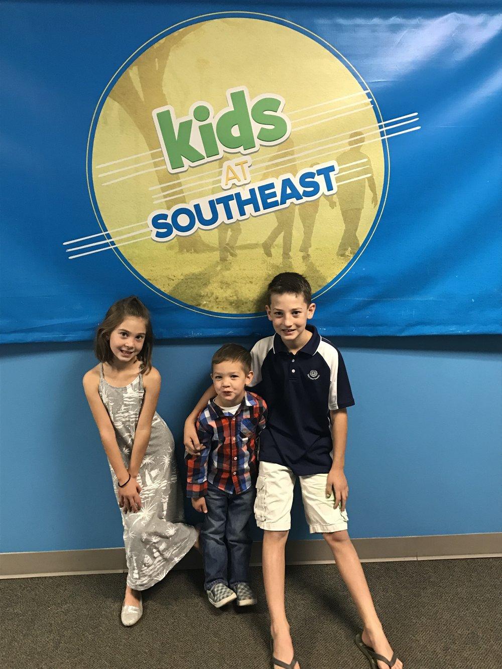 Stephanie Clarkson's Kiddos Showing Southeast Pride