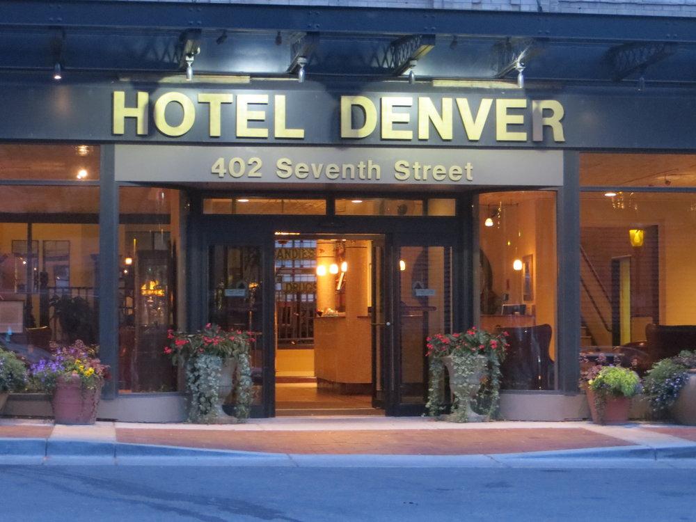 Hotel Denver on Seventeenth Street