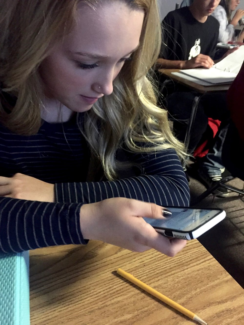 A Student Focused on Technology in the Classroom