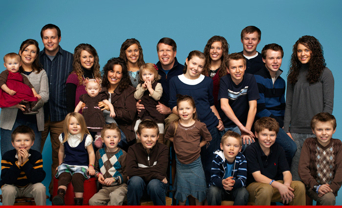 Duggar family from the original TV show 19 Kids and Counting