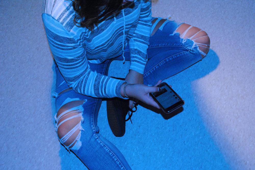 In recent years, Twitter has increased the ability for students to negatively interact online. Photo by Avree Martinez