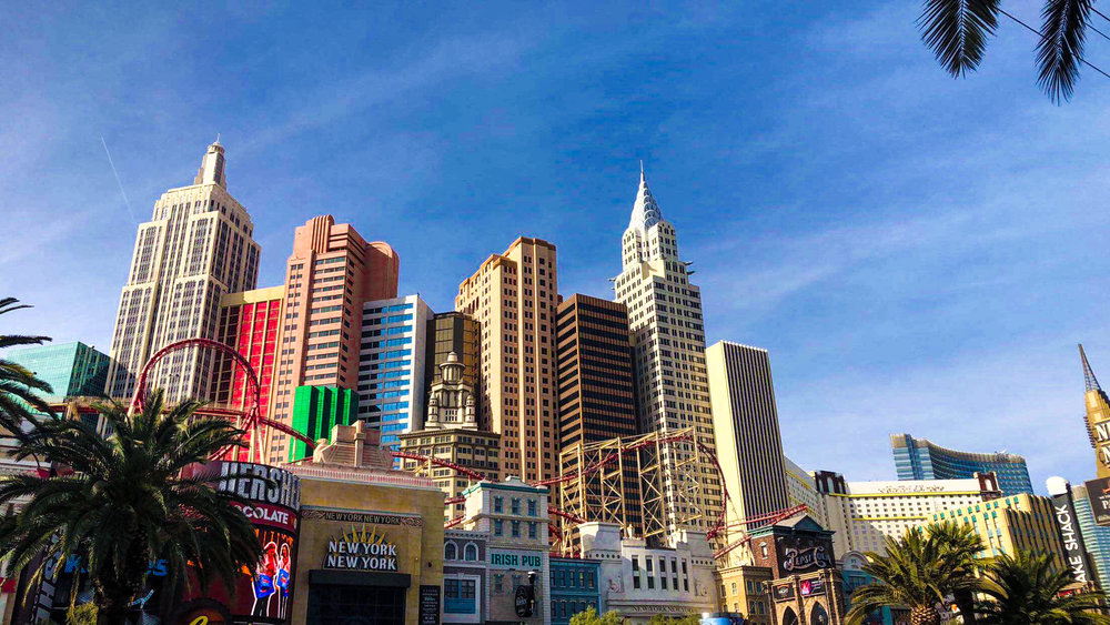 The Las Vegas Strip was one of the many placs visited over Christmas break. Photo by Maddie Smith
