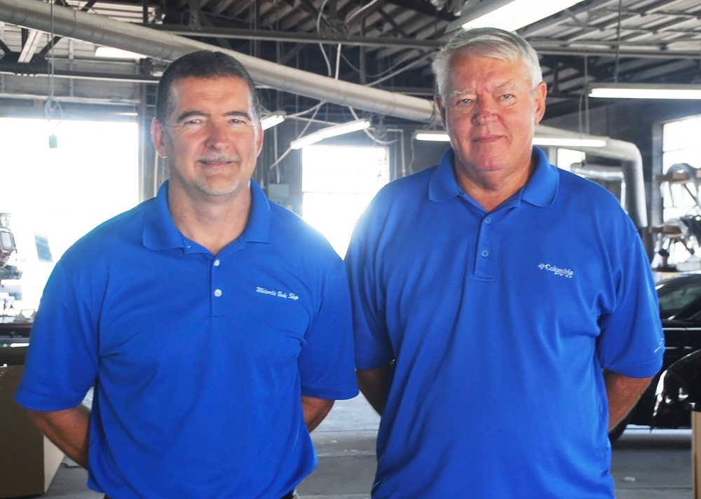 Lynn Simmons, Shop Manager & Mike Spivey, Owner