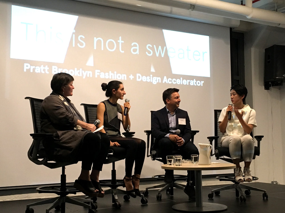 Left to Right: Debera Johnson, Olivia Burca, Chris Kasabach, and Yuchen Zhang