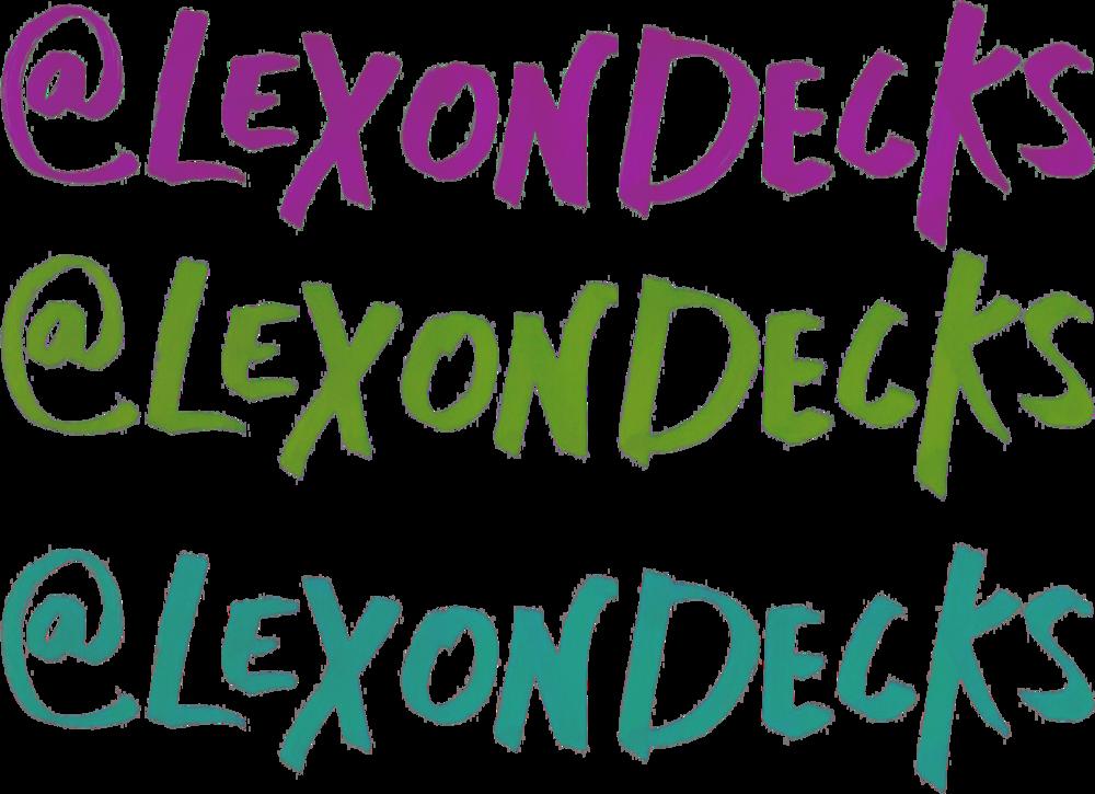 Lex On Decks Graphic