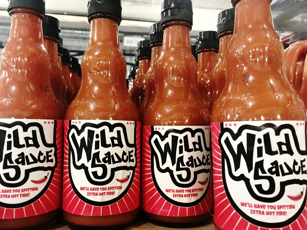 Wild Sauce Logo Design