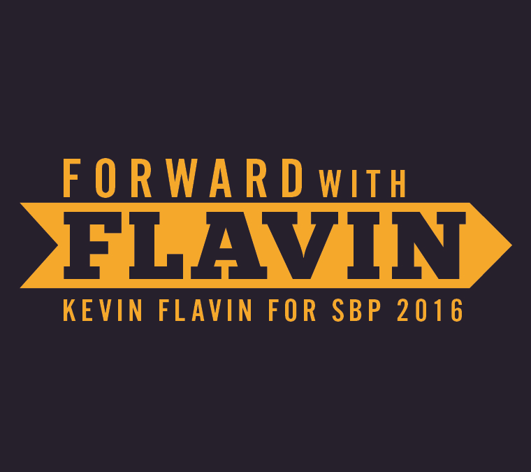 Forward With Flavin Campaign Logo