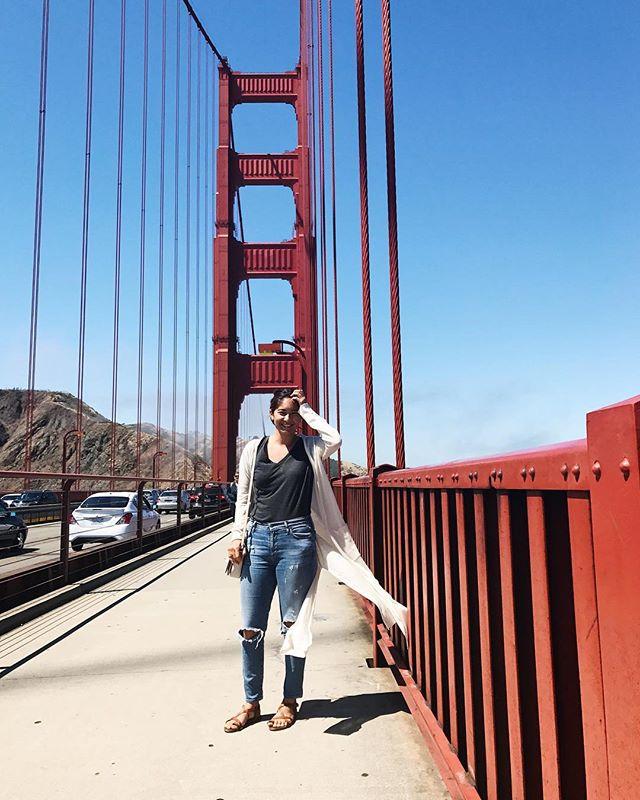 A year ago in San Francisco 🤭 - #sanfrancisco #goldengatebridge #travelingwoman #womenwhotravel #adventuroussoul #endofsummer #throwback #bestlife