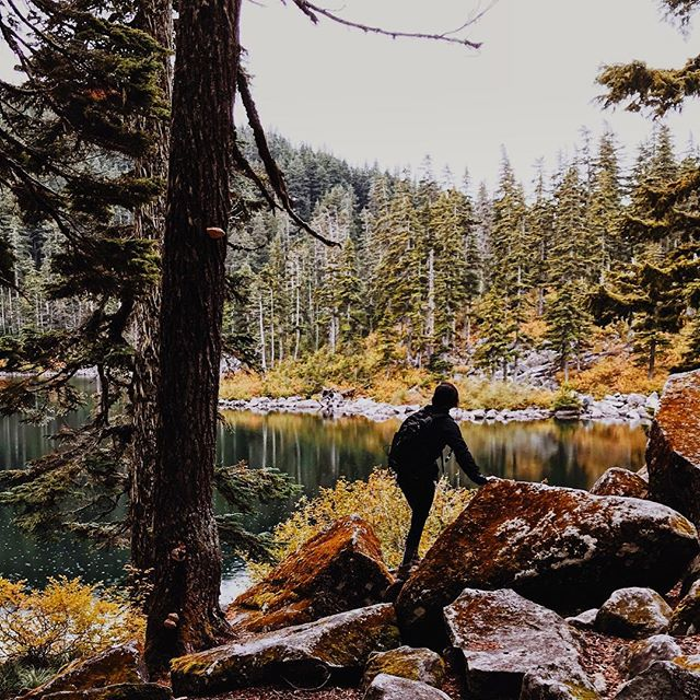 Fall is here and I ain't mad 🍁🍂🌝 #seattlehikes #pnwhikes #hikingpnw #thingstodoinseattle #seattle_igers #explorewashington #intentionalliving #exploringpnw #womenwhohike #brazilianamerican #allegria #americanlandscapes #fall #fall2018 #hikingadventure #hikingbabes #hikerbabes #seattlelifestyle #seattleblogger #seattlebloggerbabe #outandabout