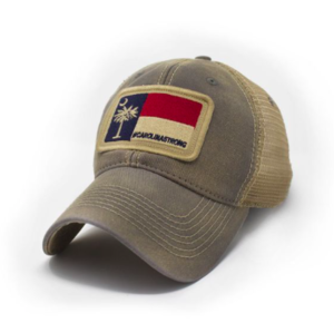 3f17a92d State Legacy Revival - Carolina Strong Flag Patch Trucker Hat - Driftwood  ...