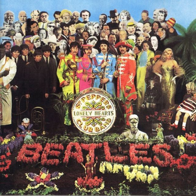 Tomorrow we begin our theme, Music Is All We Got! Our first album is Sgt. Pepper Lonely Hearts Band.