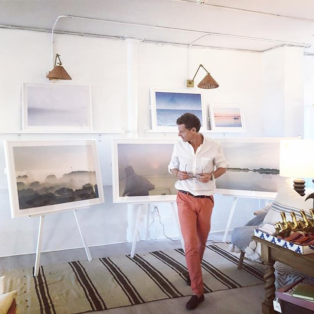 4 ferries delivered @ogilvylandscape from ACK to @onekingslane Southampton yesterday to launch his beautiful, ethereal photography - in store + on line. When not on ⛴ 🛳🚢🚤 #JamesOgilvy is up at dawn to capture the stillness - wherever he goes - and now it is  available to the world. Seriously thrilled w that #globalism for this friend + client.  MORE in the story. #whatfollowsiscool #teamhardylon #whenitallcomestogether w 🙏🏼 to the amazing team @onekingslane - all of ya!